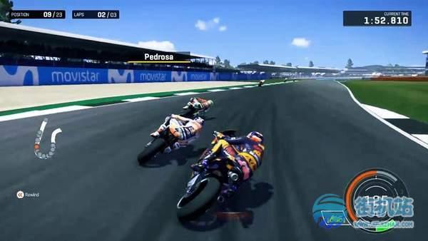 摩托骑手交通比赛3D图1