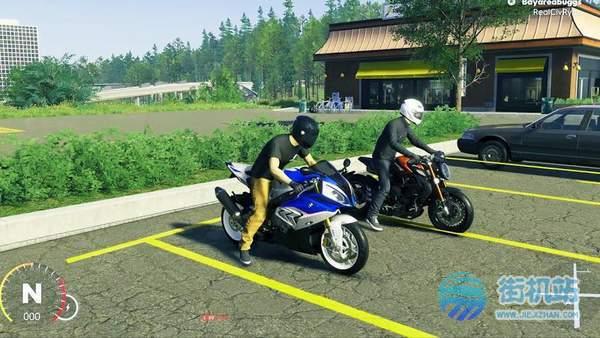 摩托骑手交通比赛3D图3