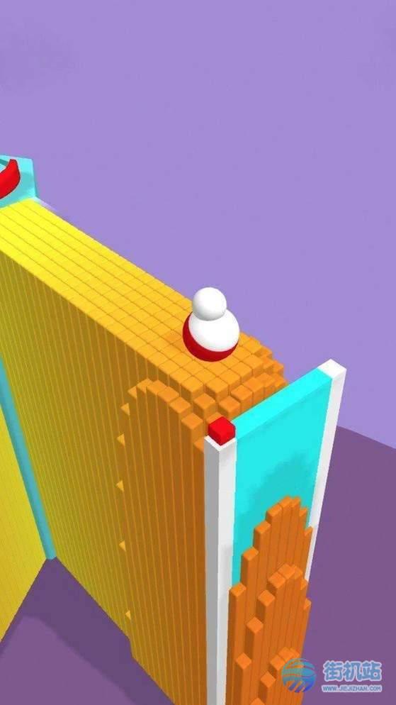 彩色翻滚3D图3