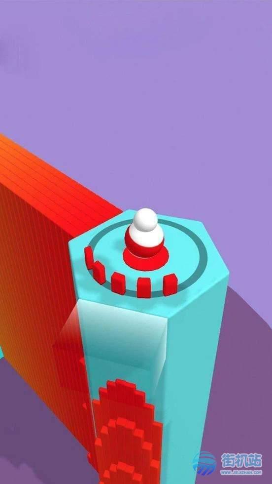 彩色翻滚3D图1