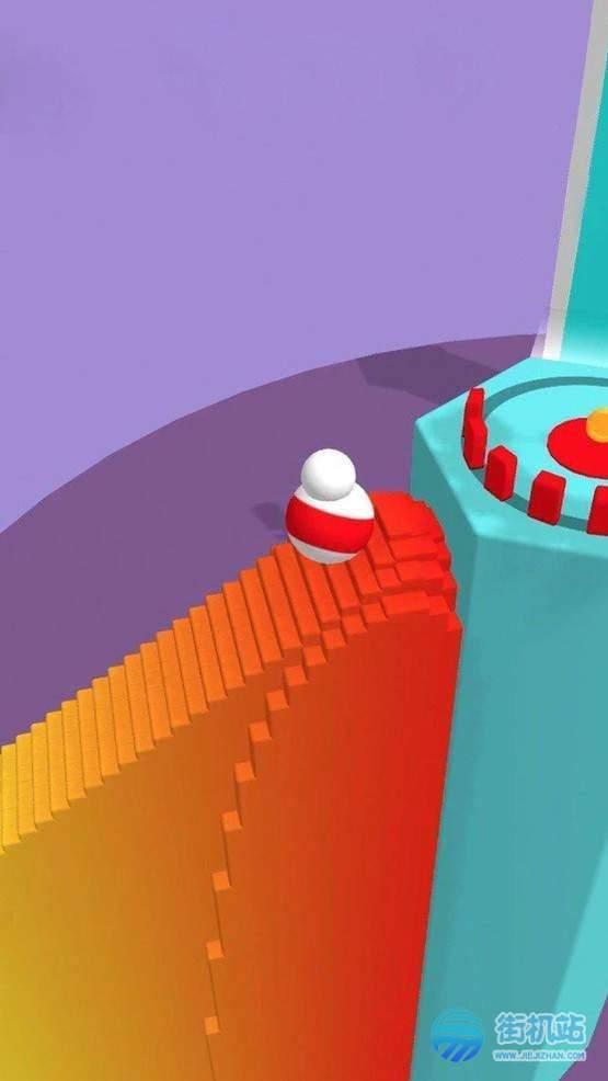 彩色翻滚3D图2