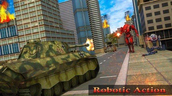 坦克对战机器人
