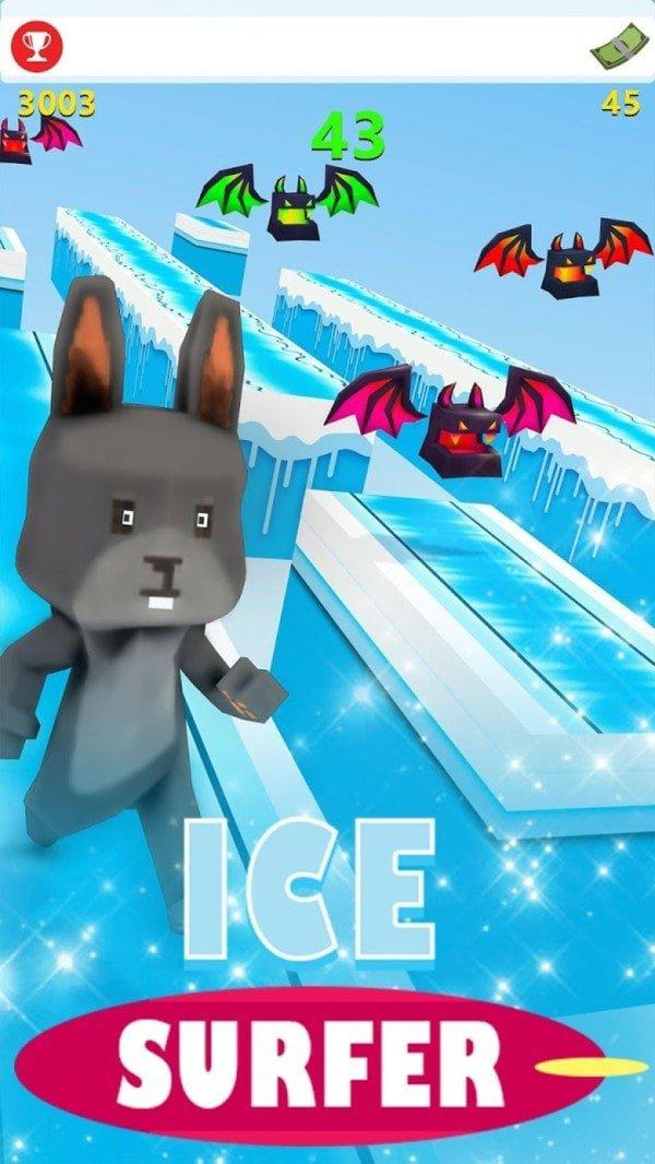 猫咪冰雪跑酷图3