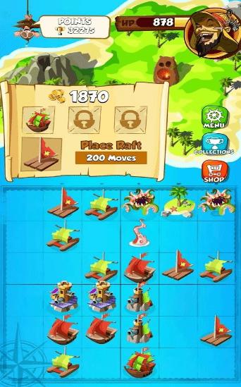 海盗狂热合并与征服