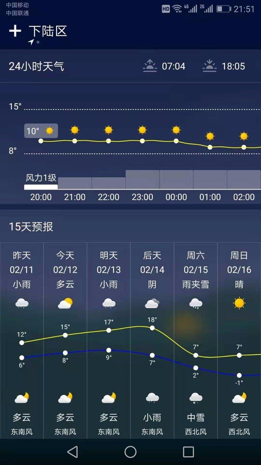 水母天气图2