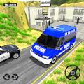 警察面包车驾驶警车模拟器2021